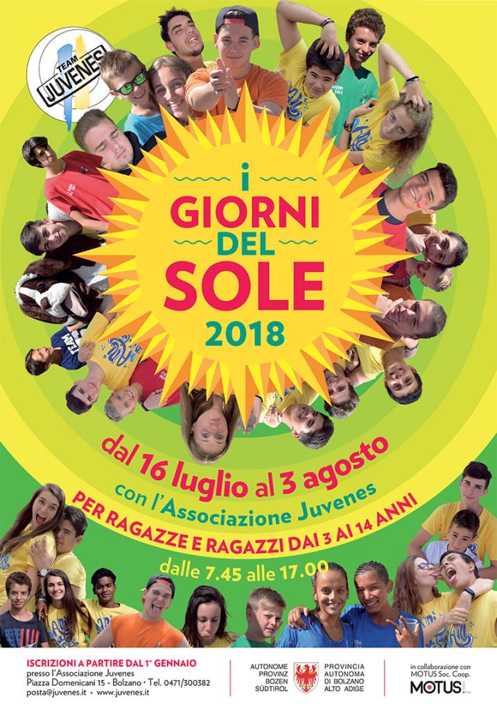 A3 I GIORNI DEL SOLE 2018