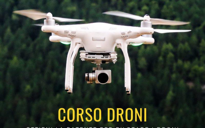 Patentino Droni